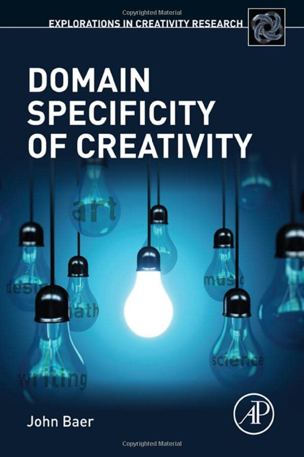 domain-specificity-of-creativity-explorations-in-creativity-research