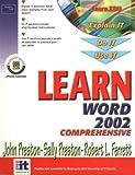 Preston, John: Learn Word 2002 Comprehensive