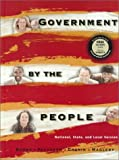 Burns, James MacGregor: Government by the People, National, State, Local Version (18th Edition)