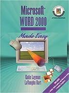 Microsoft Word 2000 Made Easy (Layman &…