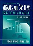 Fundamentals of Signals and Systems Using…