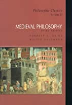 Medieval Philosophy by Forrest E. Baird