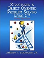 Structured & Object-Oriented Problem Solving…