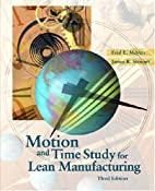 Motion and Time Study for Lean Manufacturing…