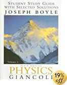 Physics: Student Study Guide With Selected Solutions Vol. 1 6th Edition