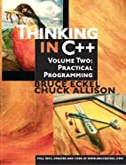 Thinking in C , Volume 2: Practical…