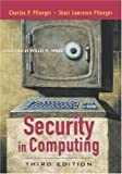 Pfleeger, Charles P.: Security in Computing