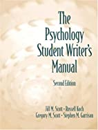 The Psychology Student Writer's Manual (2nd…