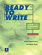 Ready to Write: A First Composition Text,…