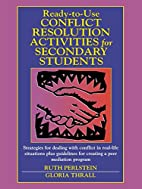 Ready-to-Use Conflict Resolution Activities…