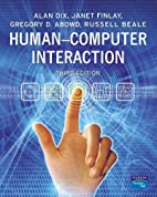 Human-Computer Interaction (3rd Edition) by…