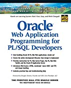 Oracle Web application programming for…
