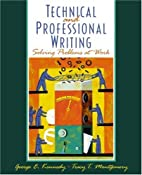 Professional and Technical Writing: Problem…