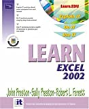 Ferrett, Robert: Learn Excel 2002
