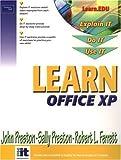 Preston, John: Learn Office XP Brief