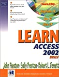 Preston, John: Learn Access 2002 Brief