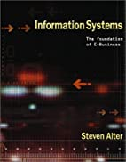 Information Systems: Foundation of…