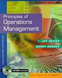 Heizer, Jay: Principles of Operations Management and Interactive CD Package (4th Edition)