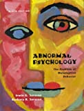 Sarason, Irwin G.: Abnormal Psychology: The Problem of Maladaptive Behavior