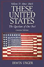 These United States: The Questions of Our…