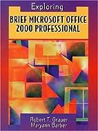 Brief Microsoft Office 2000 Professional…