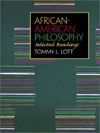 African-American Philosophy: Selected…
