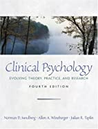 Clinical Psychology: Evolving Theory,…