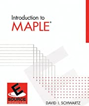 Introduction to Maple (Esource) by David I.…