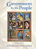 Cronin, Thomas E.: Government by the People: National Version