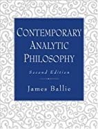 Contemporary Analytic Philosophy: Core…