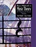 Harder, Paul O.: Basic Materials in Music Theory: A Programed Course