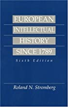 European Intellectual History Since 1789&hellip;