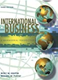 Griffin, Ricky W.: International Business: Managerial Perspective Forecast 2003 (Prentice Hall international editions)