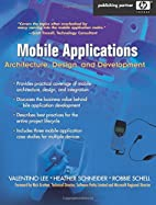 Mobile Applications: Architecture, Design,…