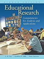 Educational Research: Competencies for…