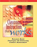 Marzano, Robert J.: Classroom Instruction that Works: Research-Based Strategies for Increasing Student Achievement