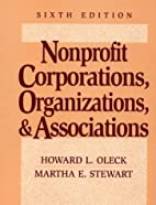 Nonprofit Corporations, Organizations, and…