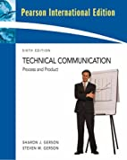 Technical Communication: Situations and…