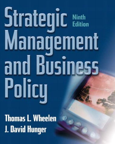 strategic-management-and-business-policy-ninth-edition