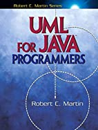 UML for Java Programmers by Robert C. Martin