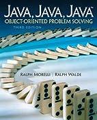 Java, Java, Java, Object-Oriented Problem…