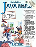 Java How to Program 6th Edition by Harvey M.…