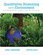 Quantitative Reasoning & the Environment by…