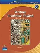 Writing Academic English by Alice Oshima