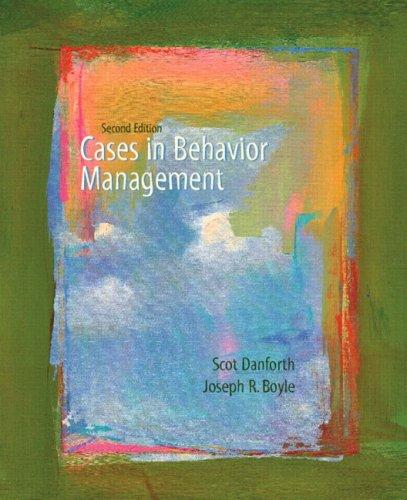 cases-in-behavior-management-2nd-edition