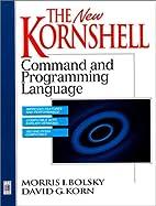 New KornShell Command And Programming…
