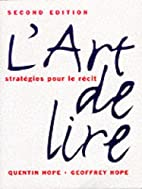 L'Art de lire (2nd Edition) by Geoffrey R.…