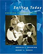 Selling Today: Creating Customer Value (10th…