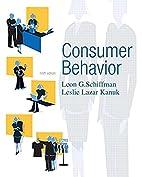 Consumer Behavior by Leon G. Schiffman