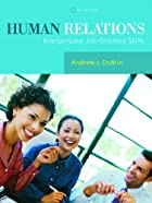 Human Relations: Interpersonal Job-Oriented…
